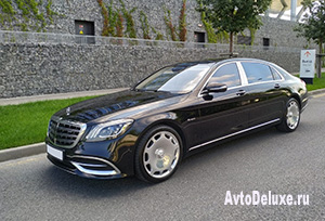 Maybach X222 Long black